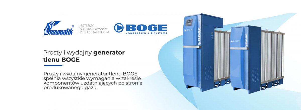 generator tlenu boge