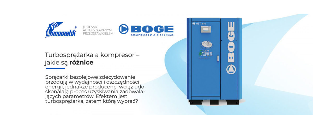 turbosprężarka a kompresor