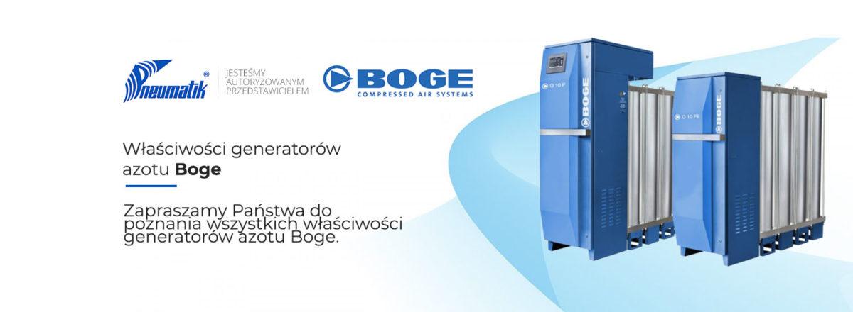 właściwości generatorów azotu